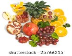 fruits | Shutterstock . vector #25766215