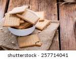 Stacked Butter Biscuits  Close...