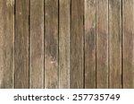 old wooden board | Shutterstock . vector #257735749