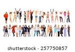 together we rule  united... | Shutterstock . vector #257750857