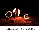 fire shows | Shutterstock . vector #257751319