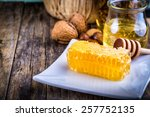 Honey Dipper And Honeycomb ...
