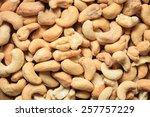 healthy food  cashews rich in... | Shutterstock . vector #257757229