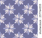 seamless floral pattern | Shutterstock .eps vector #257764555