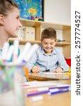 children at school | Shutterstock . vector #257774527