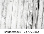 vintage white wood plankfence... | Shutterstock . vector #257778565