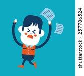 character illustration design.... | Shutterstock .eps vector #257786524