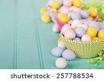 Easter Candy In Cup Cake...