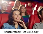 cinema  entertainment and... | Shutterstock . vector #257816539