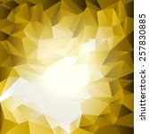 triangles pattern yellow white | Shutterstock .eps vector #257830885