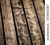 old vintage dark brown wood... | Shutterstock . vector #257852087