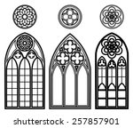 Gothic Windows Of Cathedrals...