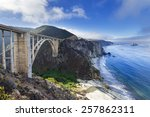 bixby bridge in big sur ...