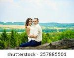wedding couple | Shutterstock . vector #257885501