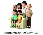 family | Shutterstock . vector #257894267