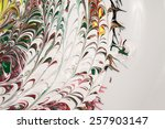 acrylic paints   texture and...   Shutterstock . vector #257903147