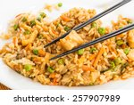 Plate Of Chicken Fried Rice...