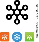 hub icon | Shutterstock .eps vector #257915855