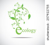 ecology icon | Shutterstock .eps vector #257922755