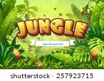 Illustration Cartoon Jungle...