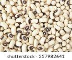 Black Eyed Beans Background