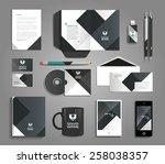 vector grapchic professional... | Shutterstock .eps vector #258038357