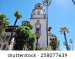 Side View Of Hearst Castle ...
