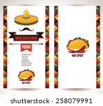 vector design template for... | Shutterstock .eps vector #258079991