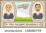 the wright brothers   cartoon...