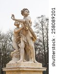 Small photo of Hermaphroditus and Salmacis statue in Lazienki Park, Warsaw, Poland