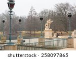 Small photo of Hermaphroditus and Salmacis statue in Lazienki Park, Warsaw