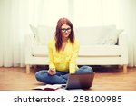 business  education and... | Shutterstock . vector #258100985