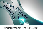 process simulation on the... | Shutterstock . vector #258113801