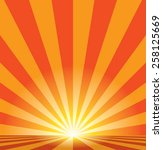 abstract burst vector... | Shutterstock .eps vector #258125669
