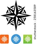 Eight Pointed Star. Vector...