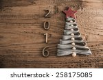 sigh symbol from many dry stick ... | Shutterstock . vector #258175085