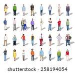 diversity ethnicity multi...   Shutterstock . vector #258194054