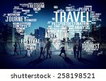 travel explore global... | Shutterstock . vector #258198521