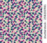 seamless geometric pattern | Shutterstock .eps vector #258203981