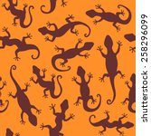 lizards. seamless abstract... | Shutterstock .eps vector #258296099