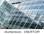 Glass Facade Of A Business House
