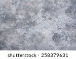 polished old grey concrete... | Shutterstock . vector #258379631