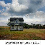 Small Country Farmhouse Out On...