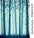 natural background with... | Shutterstock .eps vector #258441149