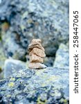 balanced stone tower. stability ...   Shutterstock . vector #258447065
