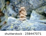 Balanced Stone Tower. Stabilit...