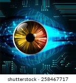 dark blue color light abstract... | Shutterstock .eps vector #258467717