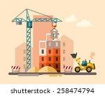 Construction Site  Building A...