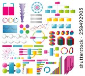 elements and info graphics | Shutterstock .eps vector #258492905