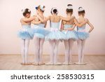 Group Of Five Little Ballerina...